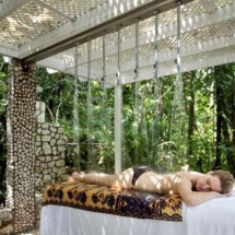 Beachfront Full Service Spa with Outdoor Treatment Area