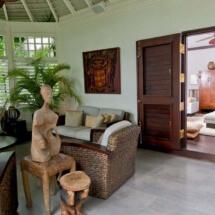 Front Veranda and Main Guest Bedroom