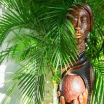 Jamaican Wooden Sculpture