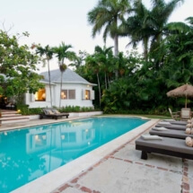 Pool with View to Rear Veranda